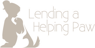 Lending a Helping Paw logo